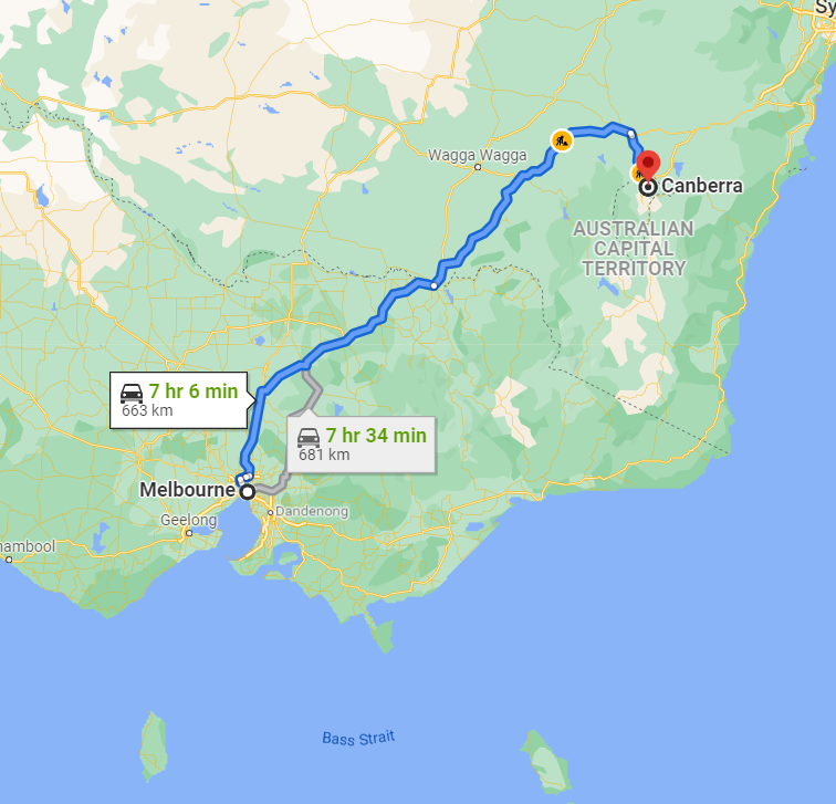 Melbourne to Canberra Movers
